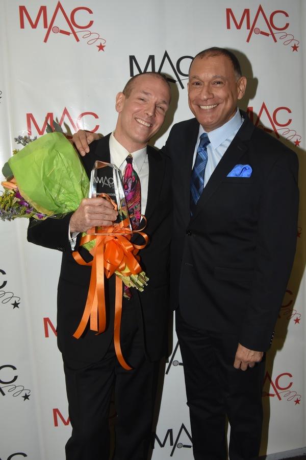 Board of Directors Award-James Gavin with Frank Dain