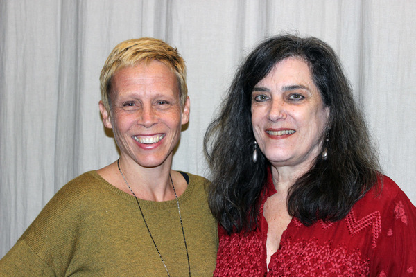 Lucie Tiberghein (director), Joyce Van Dyke (playwright)