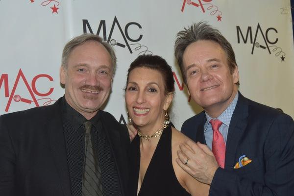 Rick Jensen, Barbara Fasano and Eric Comstock