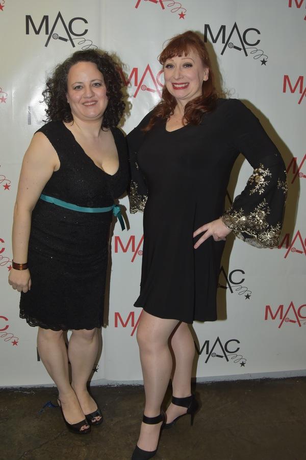 Amy Wolk and Lorinda Lisitza