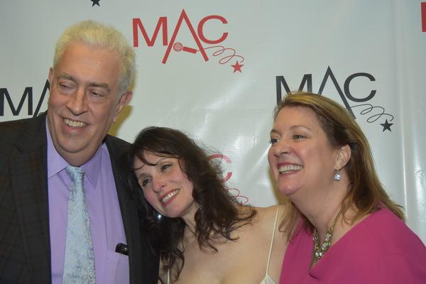 Scott Barbarino, Elaine Brier and Carolyn Montgomery Photo