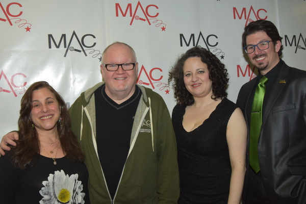 Jennie Litt (Announcer), Lennie Watts (Director), Amy Wolk (Stage Manager) and Stearn Photo