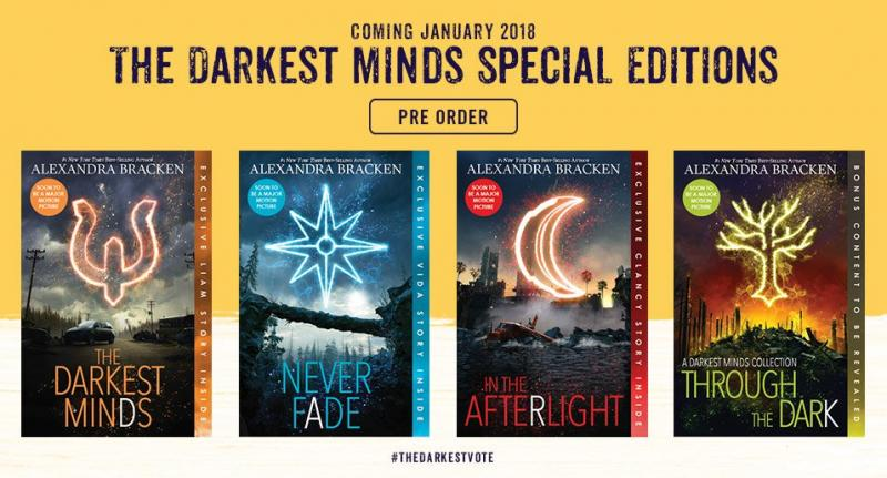 BWW Previews: Movie Trailer Drops for THE DARKEST MINDS, based on the Best-Selling Series by Alexandra Bracken, plus new cover reveal!