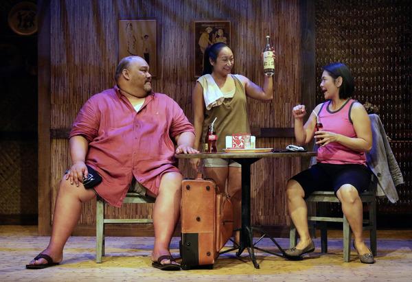 Boni B. Alvarez, Anne Yatco and Myra Cris Ocenar Photo