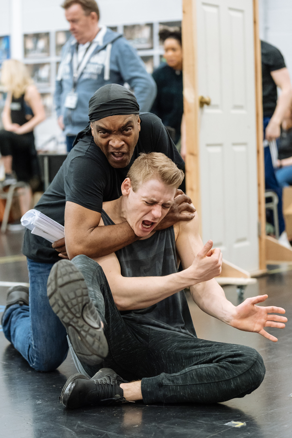 Photo Flash: In Rehearsal with AN OFFICER AND A GENTLEMAN THE MUSICAL
