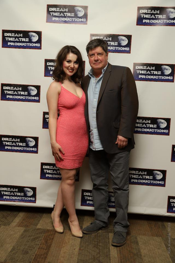 Katie McGrath with Michael McGrath Photo