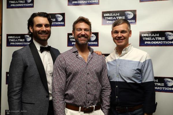 Adam Kaster (Bill Austin), Michael Hunsaker (Sam Carmichael) and Eric Van Tielen (Har Photo