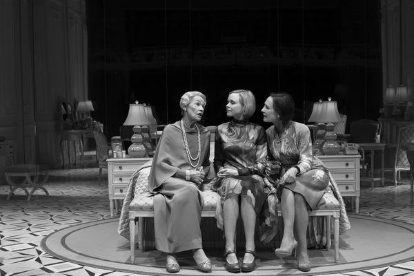 Glenda Jackson, Alison Pill, Laurie Metcalf in Edward Albee's Three Tall Women, directed by Joe Mantello, at the Golden Theatre.