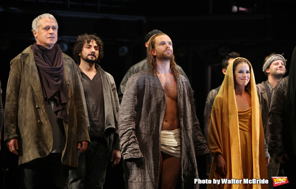 Photo Throwback: JESUS CHRIST SUPERSTAR Takes Bows at the Neil Simon Theatre in 2012