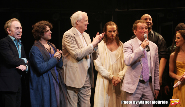 Andrew Lloyd Webber & Tim Rice with Josh Young, Paul Nolan, Director DesMcAnuff & Chilina Kennedy