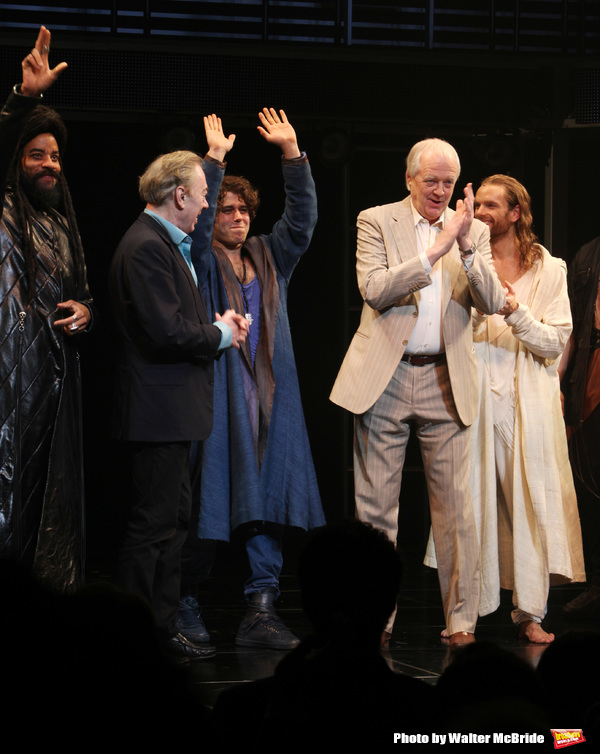 Andrew Lloyd Webber & Tim Rice with Marcus Nance, Josh Young & Paul Nolan Photo