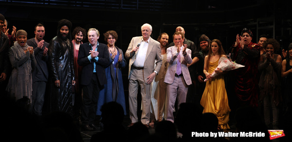Andrew Lloyd Webber & Tim Rice with Tom Hewitt, Marcus Nance, Mike Nadajewski, Josh Y Photo