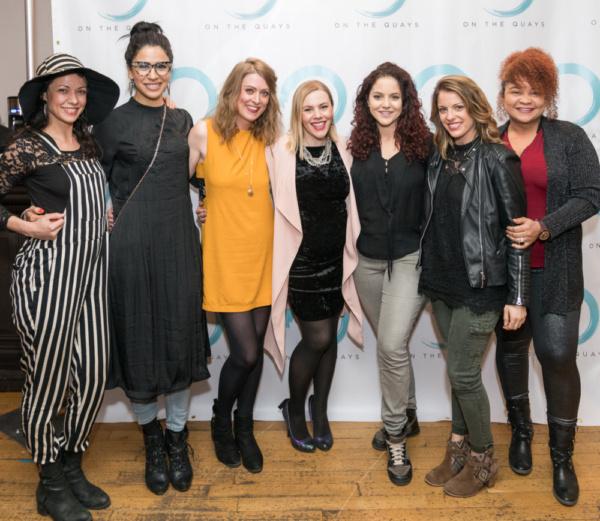 Evgeniya Radilova, Jenniffer Turpeau, Nicola Murphy, Catriona Rubenis-Stevens, Janet Krupin, Tiffany Laterza, Yudelka Heyer