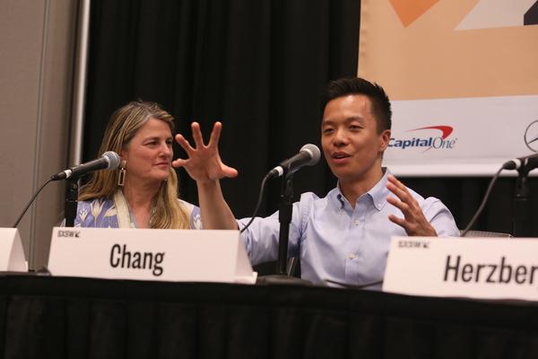 Bonnie Comley, Clive Chang Photo