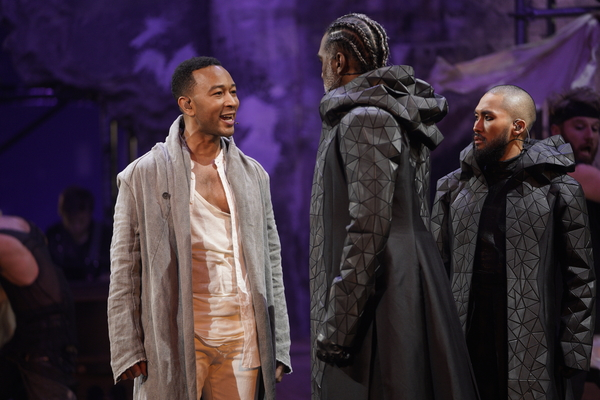 "John Legend as Jesus, Norm Lewis as Caiaphas, Jin Ha as Annas (""Hosanna�)"