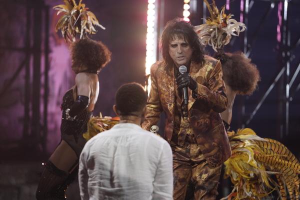 """Alice Cooper as Herod (�""""King Herod's Song"""") Photo"""