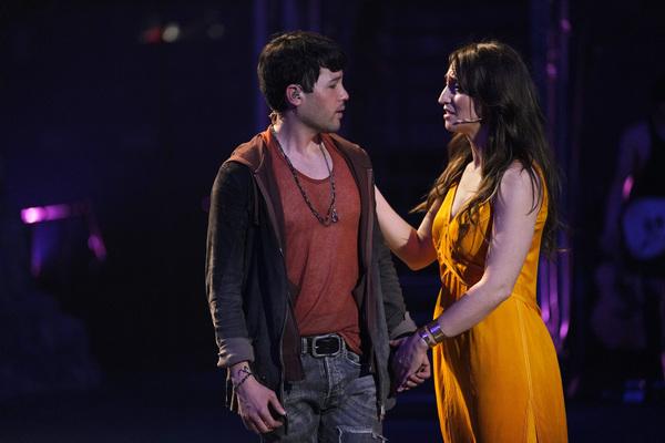 "Jason Tam as Peter, Sara Bareilles as Mary Magdalene (""Could We Start Again Please�)"