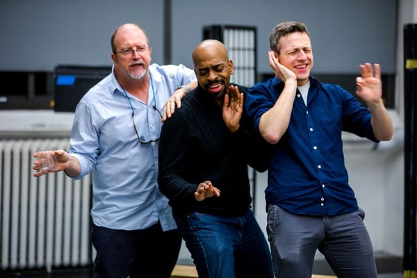 Photo Flash: In Rehearsal With Titan's MUCH ADO ABOUT NOTHING