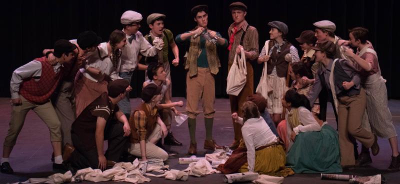 BWW Previews: NEWSIES at Dos Pueblos Theatre Company