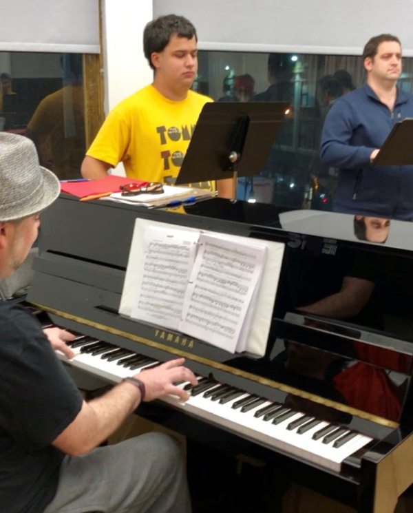 Photo Flash: EPIC In Rehearsal For EPIC4AUTISM: Songs from the Spectrum
