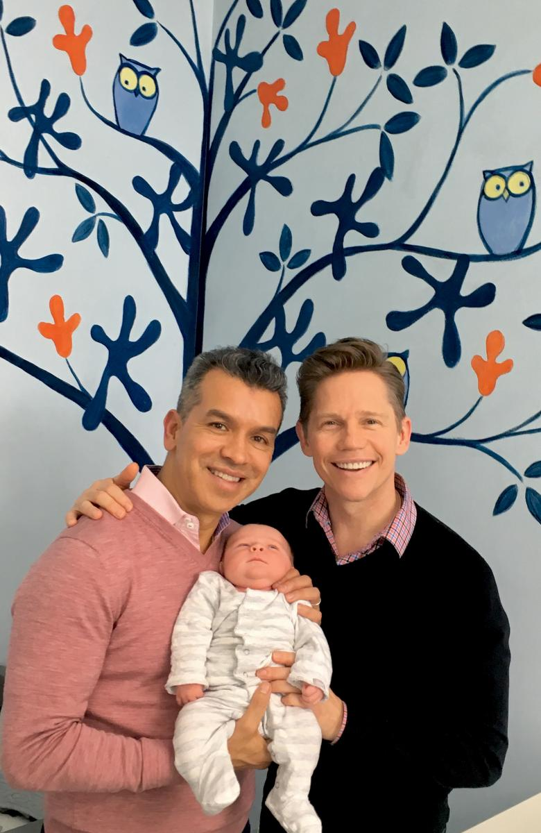 Broadway Couple Sergio Trujillo & Jack Noseworthy Welcome a Baby Boy!