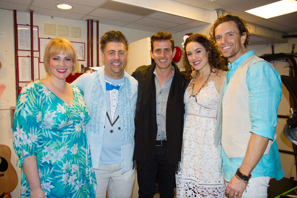 Photo Flash: NEW KIDS ON THE BLOCK's Joey McIntyre Escapes to MARGARITAVILLE