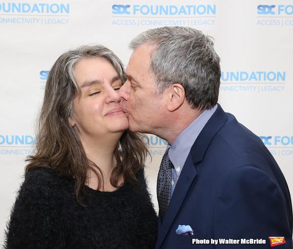 Pam MacKinnon and John Procaccino