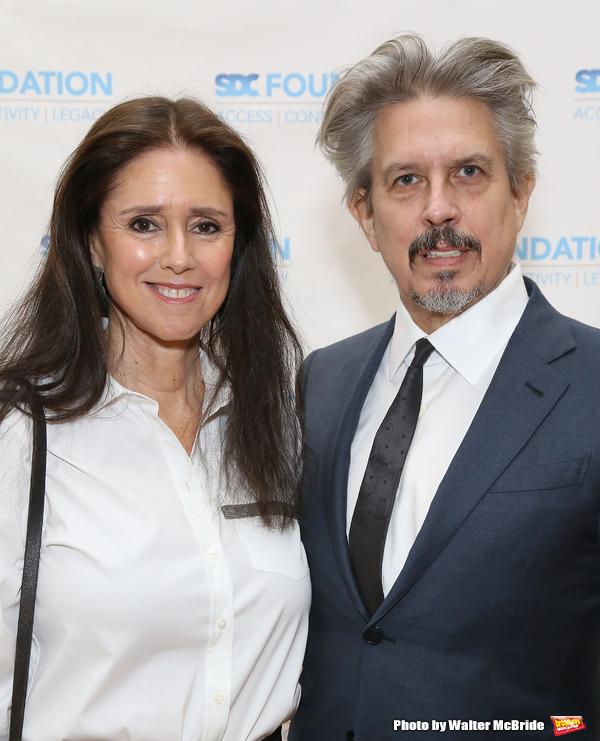 Julie Taymor and Elliot Goldenthal Photo