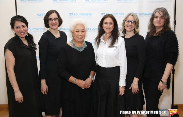 Rachel Chavkin, Evan Yionoulis, Joy Abbott, Julie Taymor, Laura Penn and Pam McKinnon