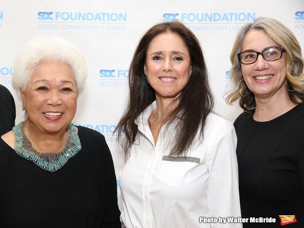 Joy Abbott, Julie Taymor and Laura Penn