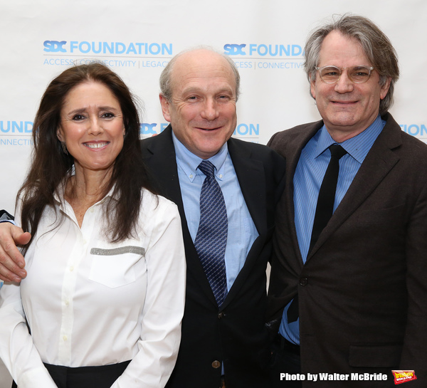 Julie Taymor, Donald Holder and Bartlett Sher Photo