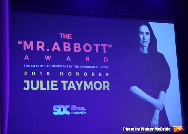 Photo Coverage: Julie Taymor is Honored With the Mr. Abbott Award