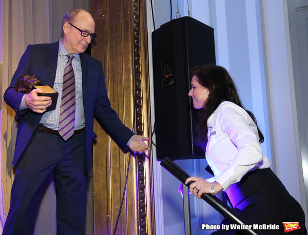James Lapine and Julie Taymor