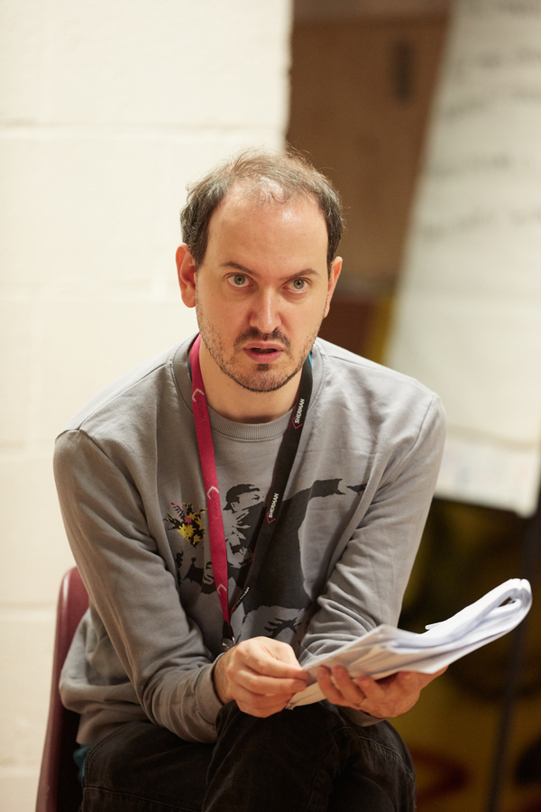 Photo Flash: Inside Rehearsal for TREMOR by Brad Birch at Sherman Theatre, Wales