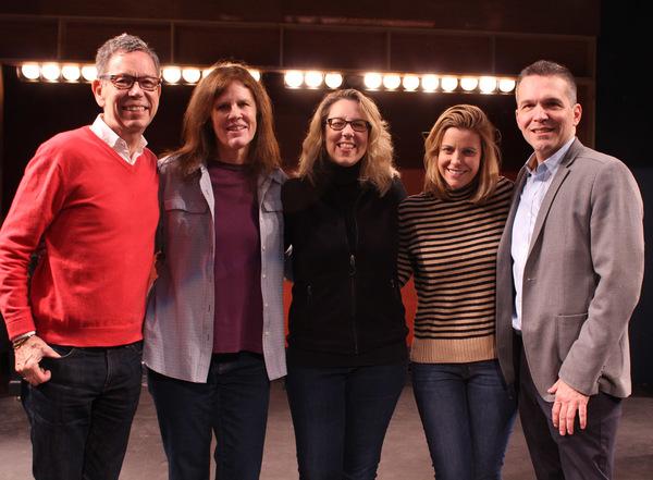 "The Creative Team â€"" Bill Russell (book/lyrics), Janet Hood (music),  Beth Falcone (music director), Amy Anders Corcoran (director), Jim Kierstead (producer)"