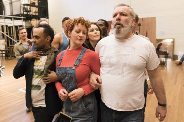 Esh Alladi, Rachel Dale and Lloyd Hutchinson