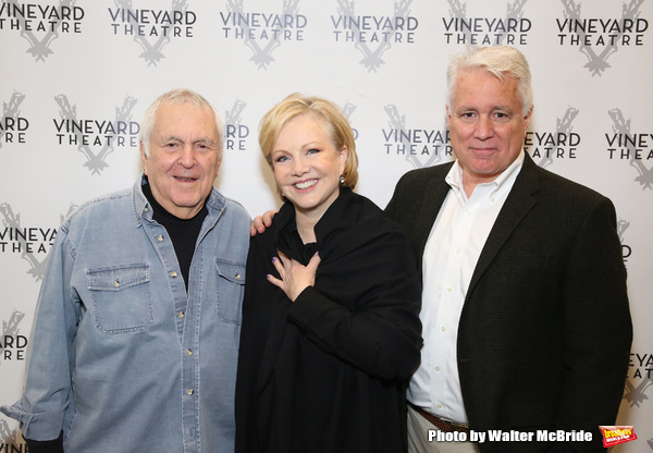 John Kander, Susan Stroman and David Thompson Photo