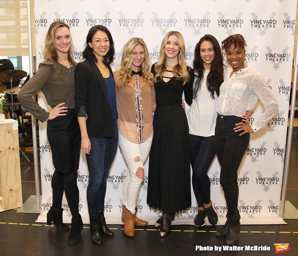 Leah Hofmann, Naomi Kakuk, Elizabeth Dugas, Brittany Marcin Maschmeyer, Maira Barriga, and Erin Moore