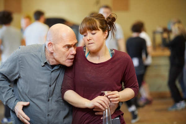 Photo Flash: In Rehearsal With Mel Giedroyc and John Hopkins