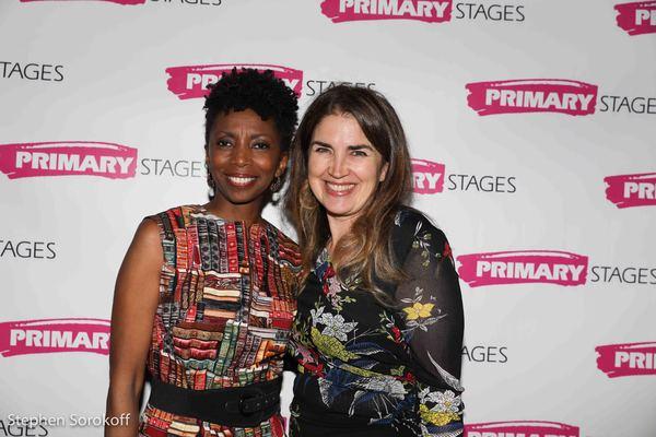 Sharon Washington & Maria Mileaf