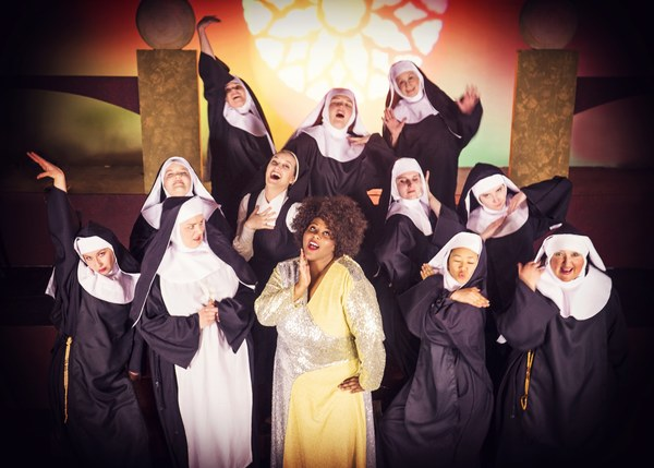 Photo Flash:  All Holy Breaks Loose at SCERA's Production of SISTER ACT