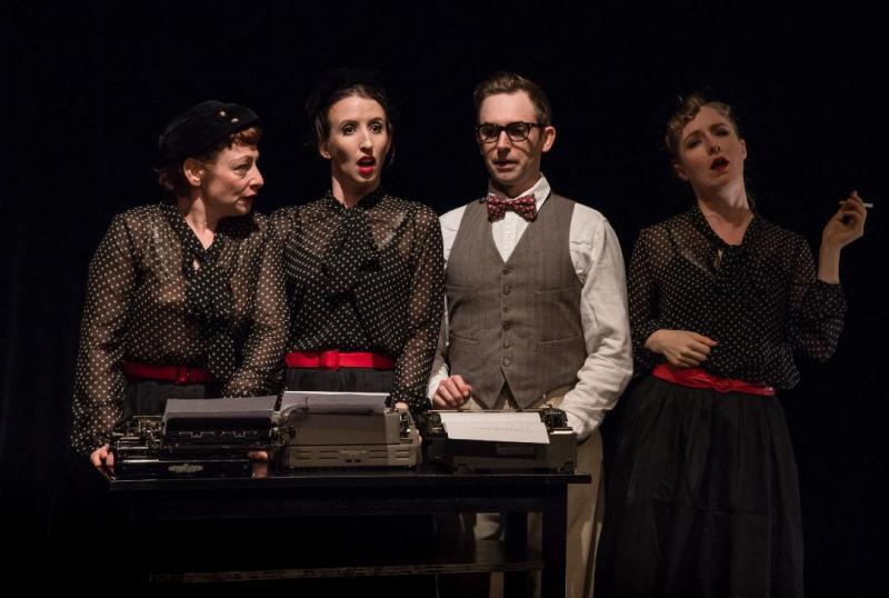 BWW Review: Fun and Richly Stylized CABARET NOIR at Happenstance Theater