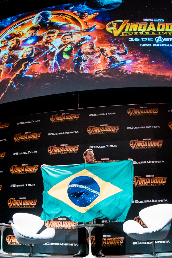 Photo Coverage: Chris Pratt Makes Appearance At the AVENGERS: INFINITY WAR Brazil Fan Event