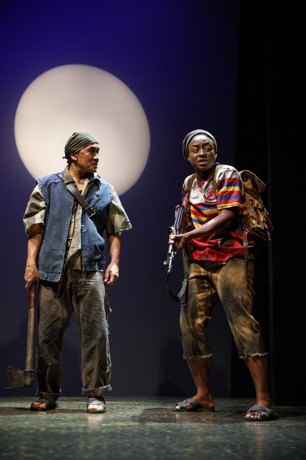 Jojo Gonzalez and Ito Aghayere