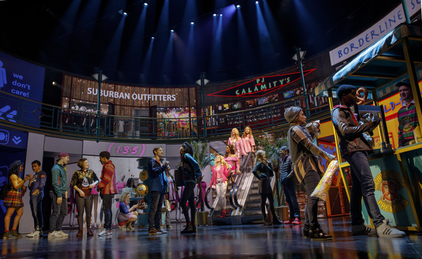 Photo Flash: Don't Be Fooled by the Pink! First Look at MEAN GIRLS on Broadway