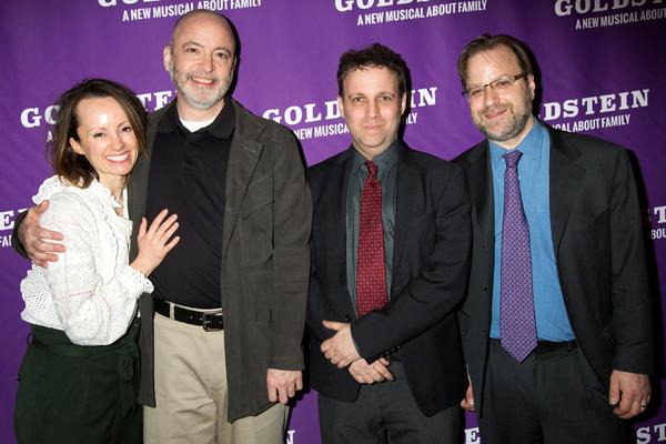 Sarah O'Gleby, Brad Rouse, Michael Robert, Charlie Schulman Photo