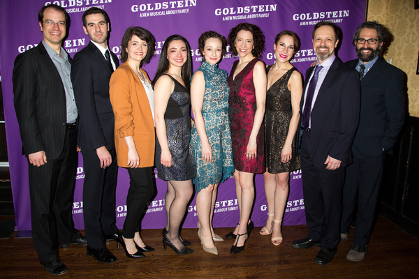 Photo Coverage: Megan McGinnis, Julie Benko & More Celebrate Opening Night of GOLDSTEIN