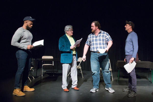 Photo Flash: Go Inside the NYC Industry Reading of STEINBRENNER!