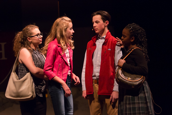 Photo Coverage: First look at New Albany Middle School's LEGALLY BLONDE