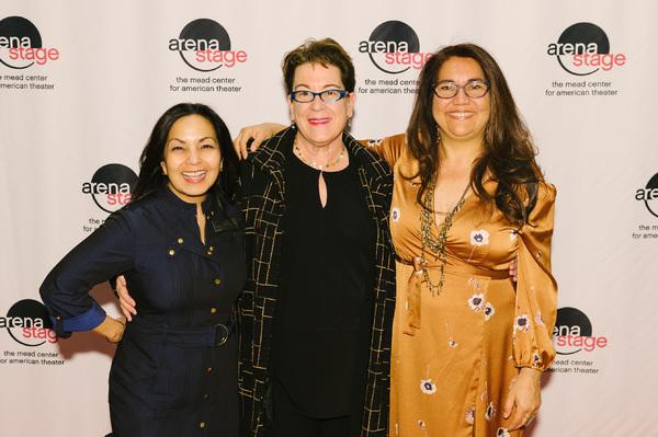 Deputy Artistic  Seema Sueko, Molly Smith and  Juliette Carrillo